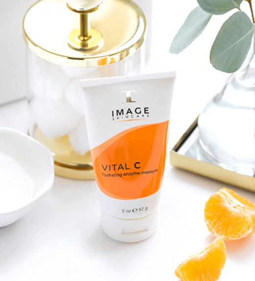 IMAGE VITAL C Enzyme best hydrating face mask