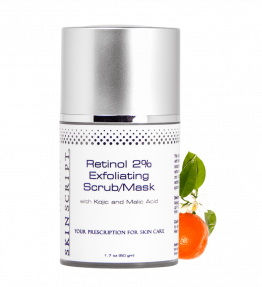 Skin Script Exfoliant: Retinol 2% Exfoliating Scrub