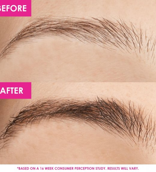 Thick attractive Eyebrows with GrandeBROW Brow Enhancing Serum